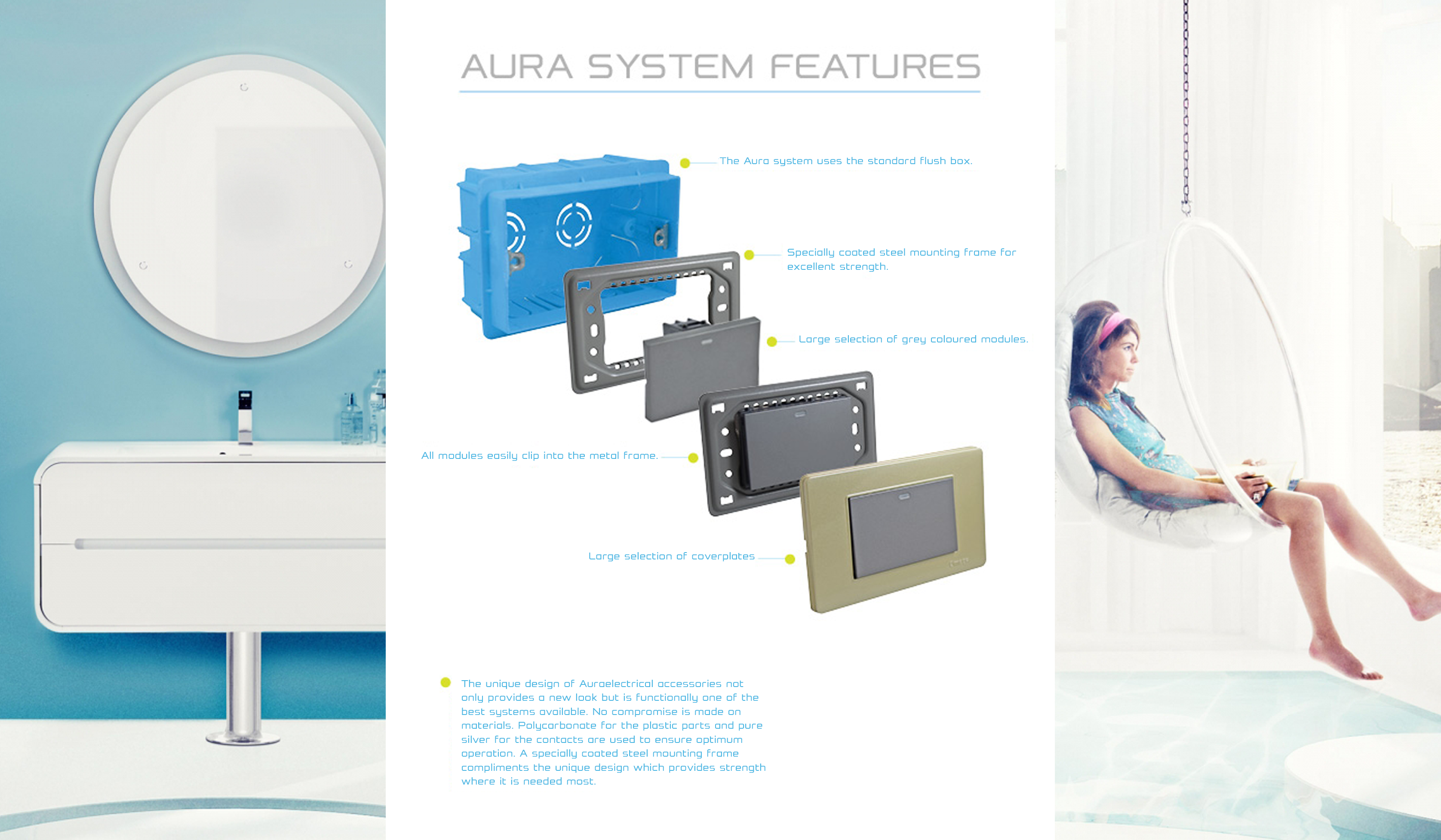 AURA SYSTEM FEATURES